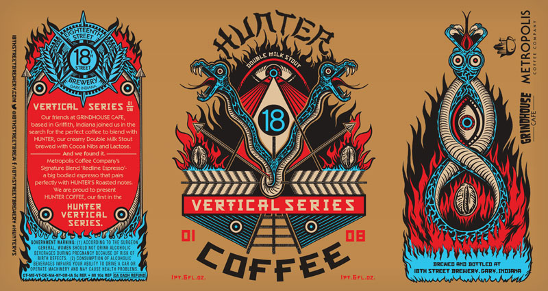 HUNTER COFFEE 01/08 in the HUNTER VERTICAL SERIES