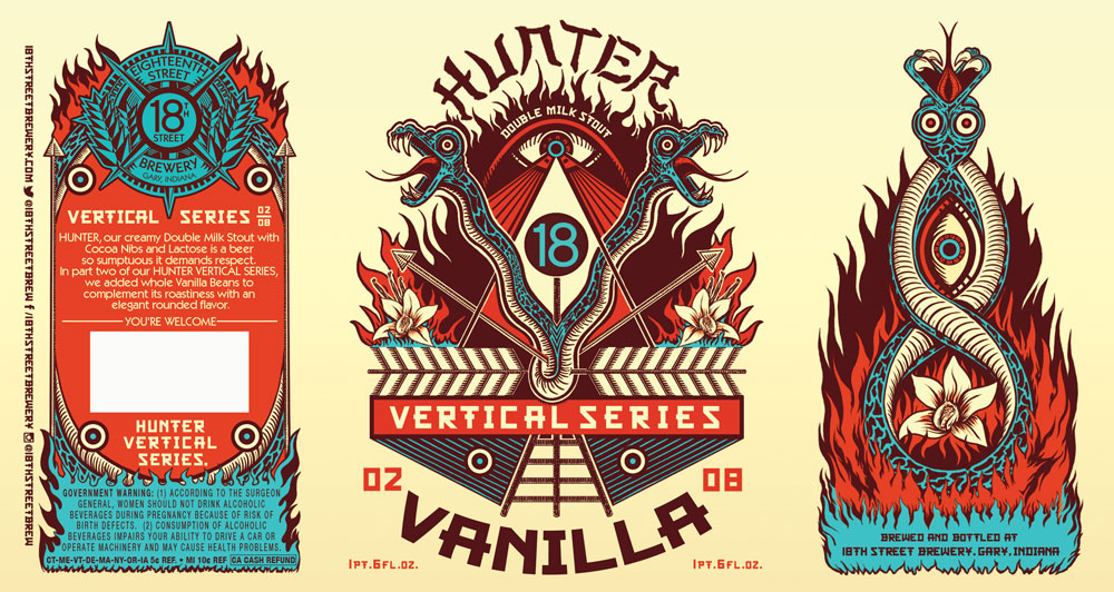 HUNTER VANILLA 02/08 of the HUNTER VERTICAL SERIES