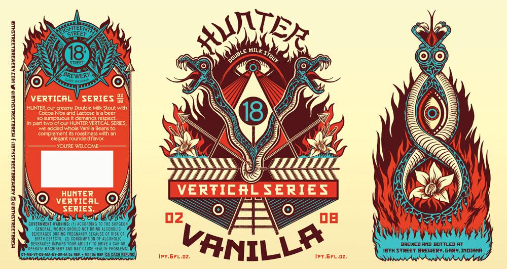 HUNTER VANILLA 02/08 of the HUNTER VERTICAL SERIES