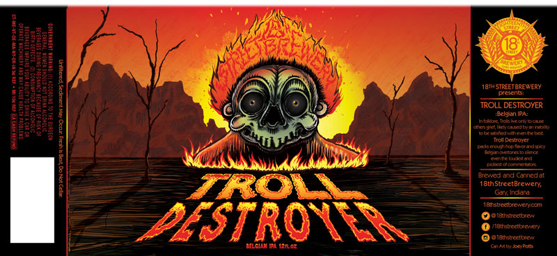 Troll Destroyer Belgian IPA