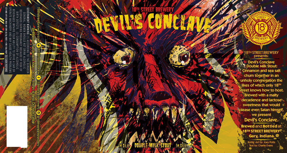 Devil's Conclave Double Milk Stout