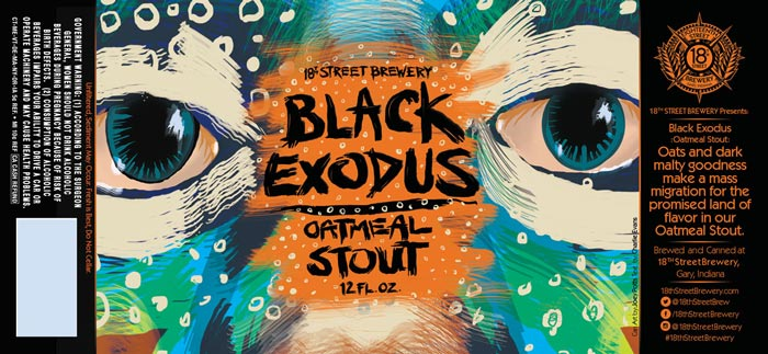 Black Exodus Oatmeal Stout