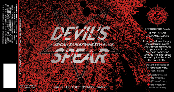 Devil's Spear American Barley Wine Style Ale