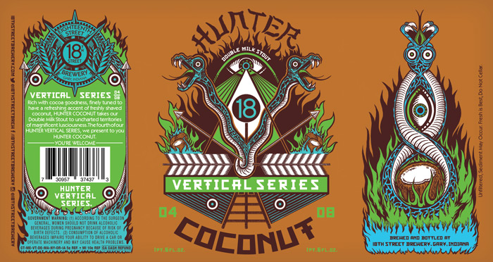 Hunter Coconut 04/08 in the HUNTER VERTICAL SERIES