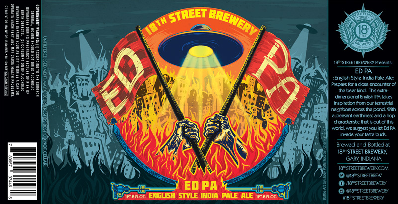 ED PA English Style IPA