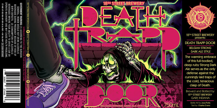 DEATH TRAPP DOOR: Belgian Strong Dark Ale