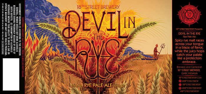 Devil in the Rye; Rye Pale Ale