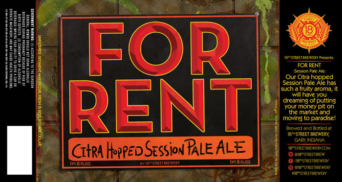For Rent Session Pale Ale