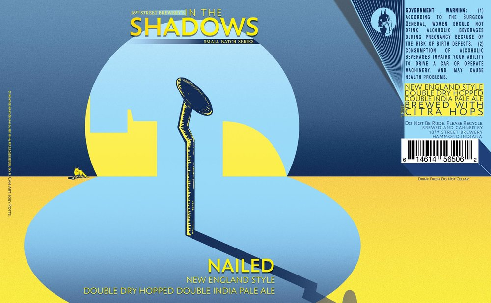 IN THE SHADOWS: NAILED DOUBLE IPA