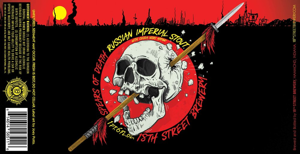 Spears of Death Russian Imperial Stout