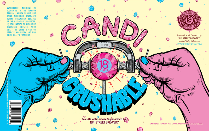 CANDI CRUSHABLE: PALE ALE