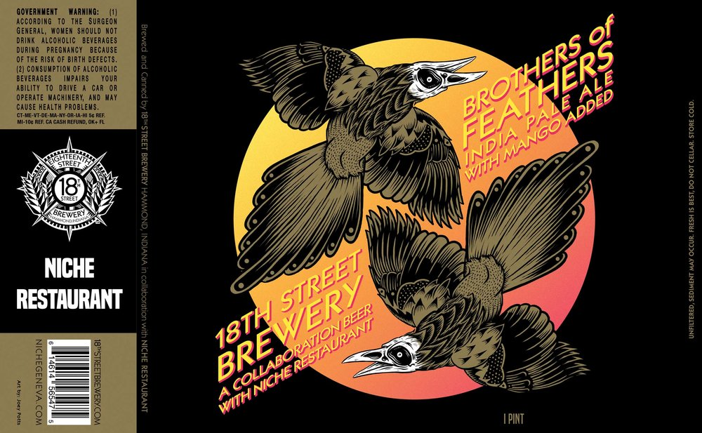 Brothers of Feathers: India Pale Ale with Mangos