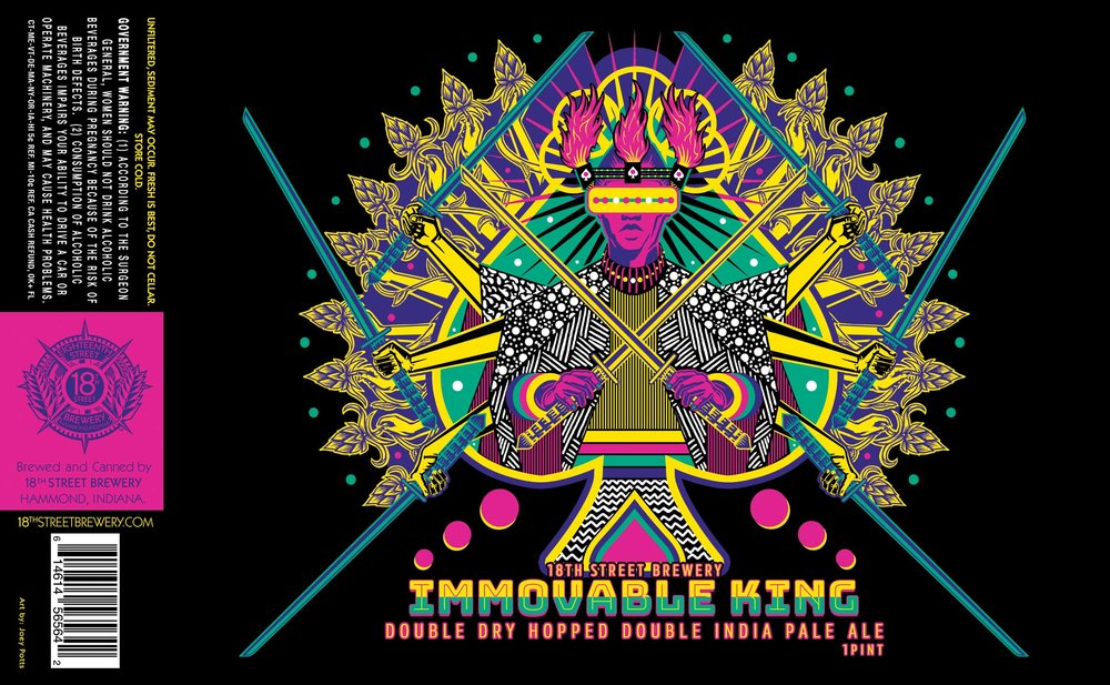 Immovable King: Double Dry Hopped Double India Pale Ale