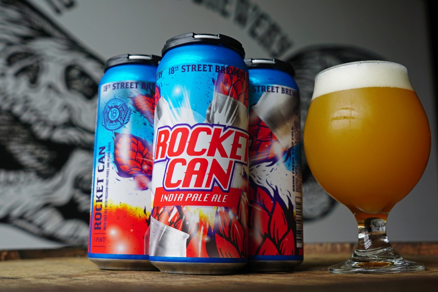 Rocket Can' in CANS! — 18th Street Brewery