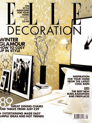 Elle Decoration (Jan '07)