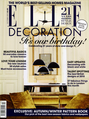 Elle Decoration (Oct 10)
