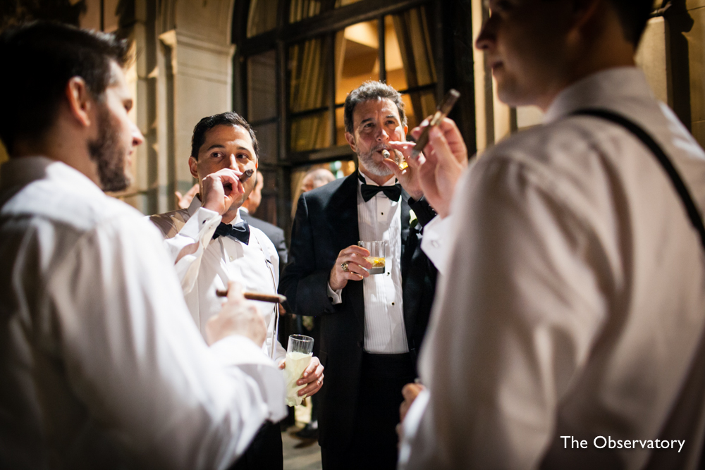 cigars-washington-dc-st-regis-wedding-reception