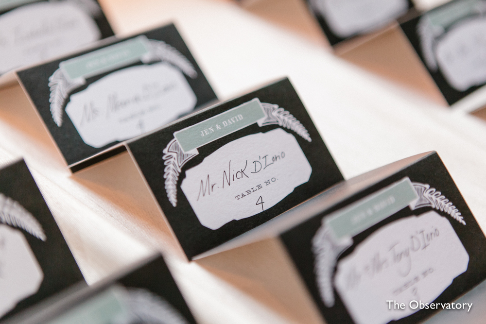 green-black-white-escort-cards-washington-dc-wedding