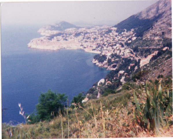 First Image - Dubrovnik, circa 1986
