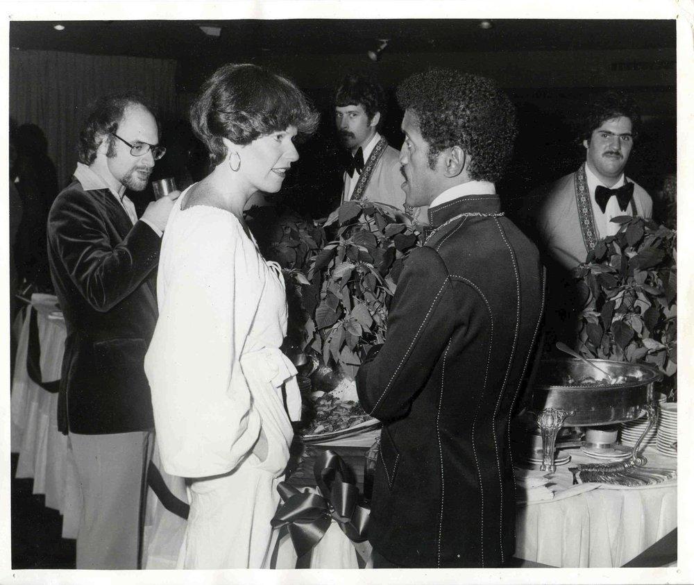 Sammy Davis Jr., Diplomat Hotel 1976