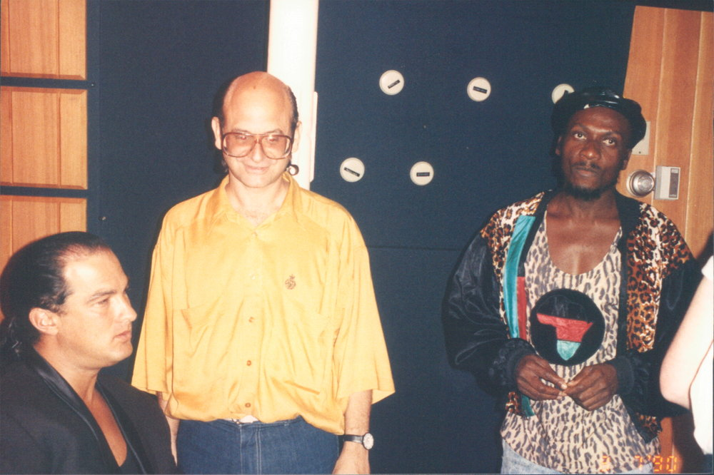 Jimmy Cliff, Steven Seagal, Conway Studios