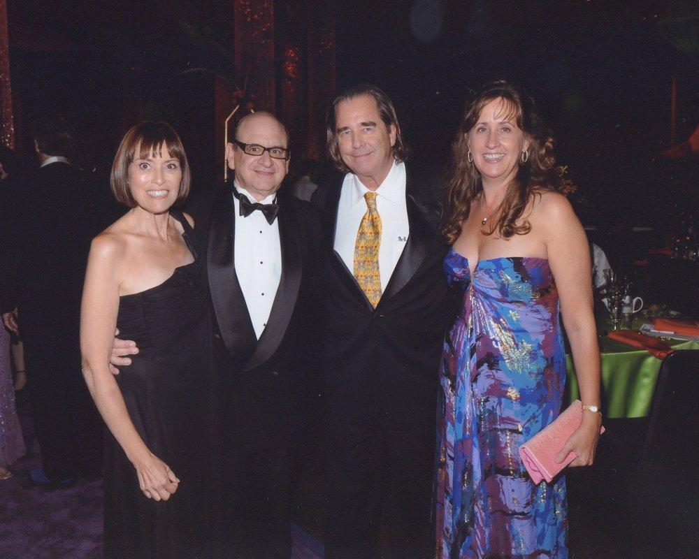4th EMMY nomination, 2009 (with Beau & Wendy Bridges)