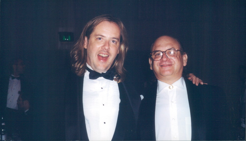 3rd EMMY nomination, 1999 (with Todd Smallwood)