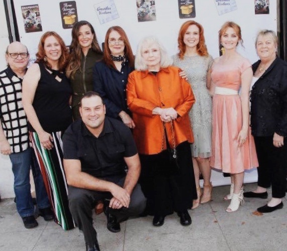 Snapshots premiere, with Piper Laurie and Melanie Mayron