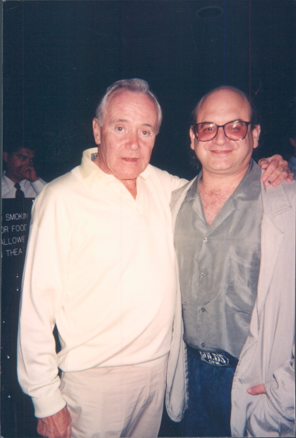 Jack Lemmon, A Life in the Theatre premiere