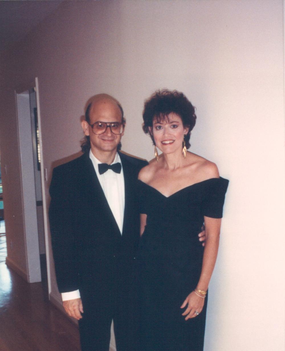 Bonnie & David Frank, 1st EMMY nomination, 1990