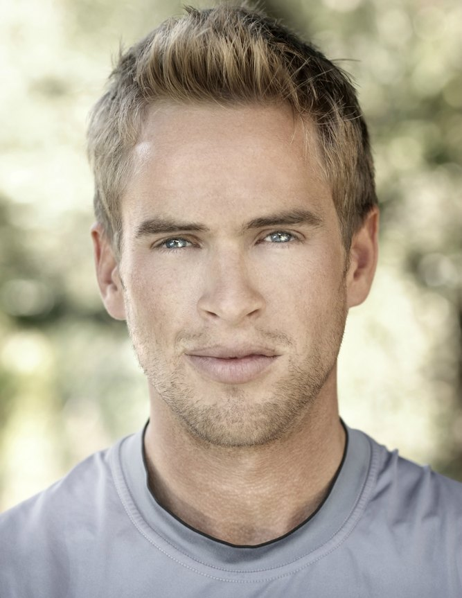 Handsome Blond Blue Eyed Male 20s