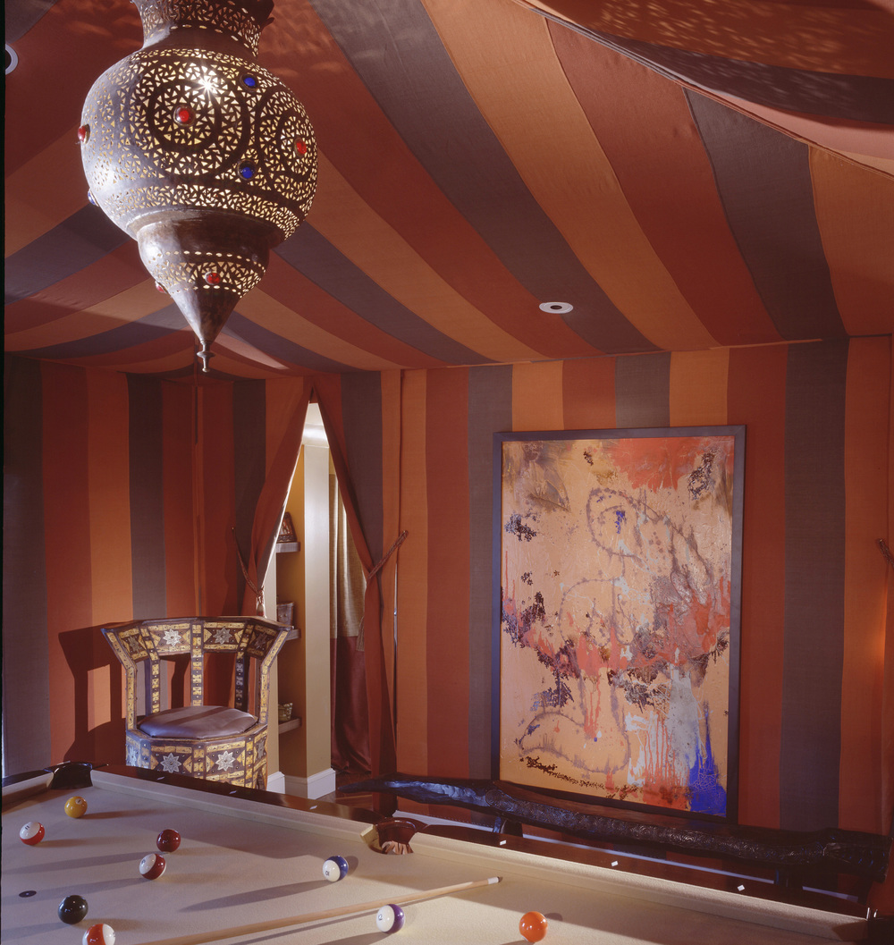 Arabesque Billiard Room