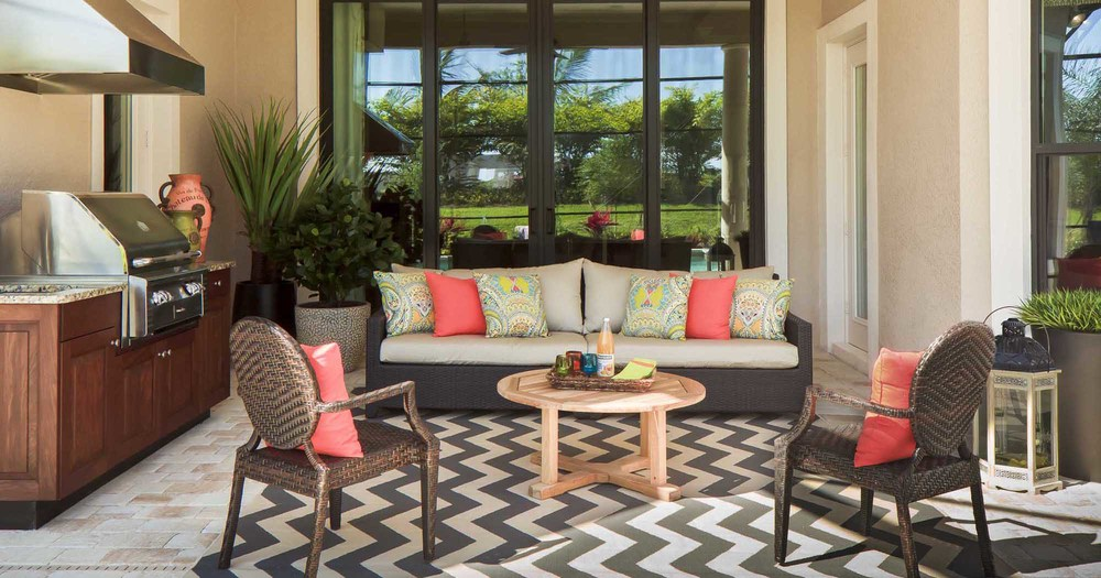 Lanai Outdoor Living Beasley And Henley Interior Design Naples