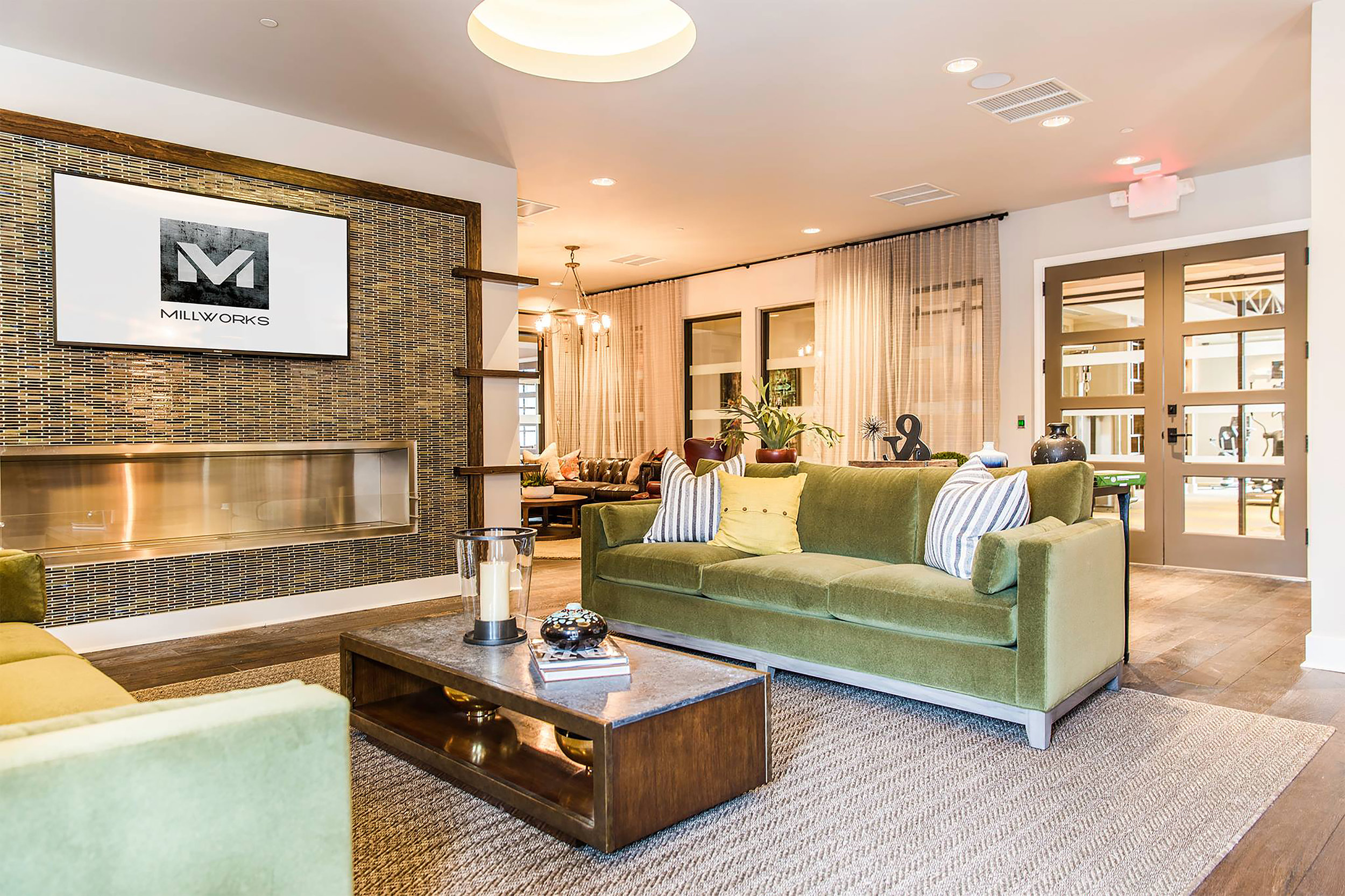 Millworks Clubhouse And Amenities By Beasley Henley Interior
