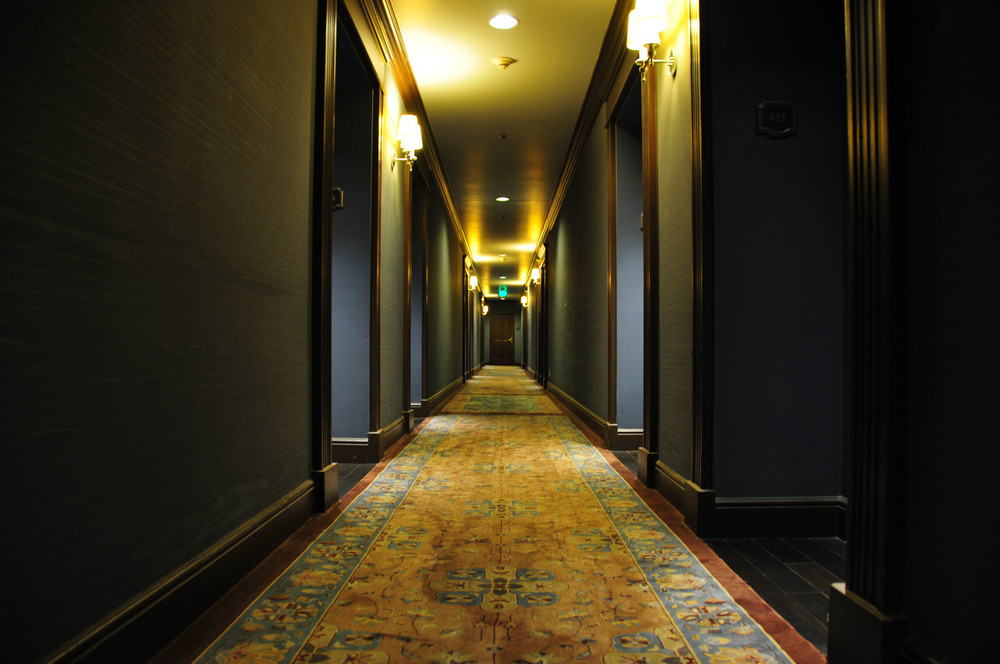 hotel corridor lobby room private club san diego sd california usa america exit emergency door.jpg