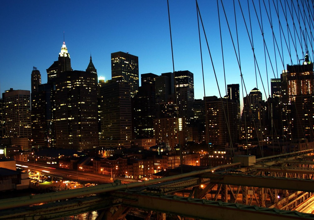 ny night life light bk bridge brooklyn nyc new york city usa america manhattan east river skyline sunset financial district.jpg