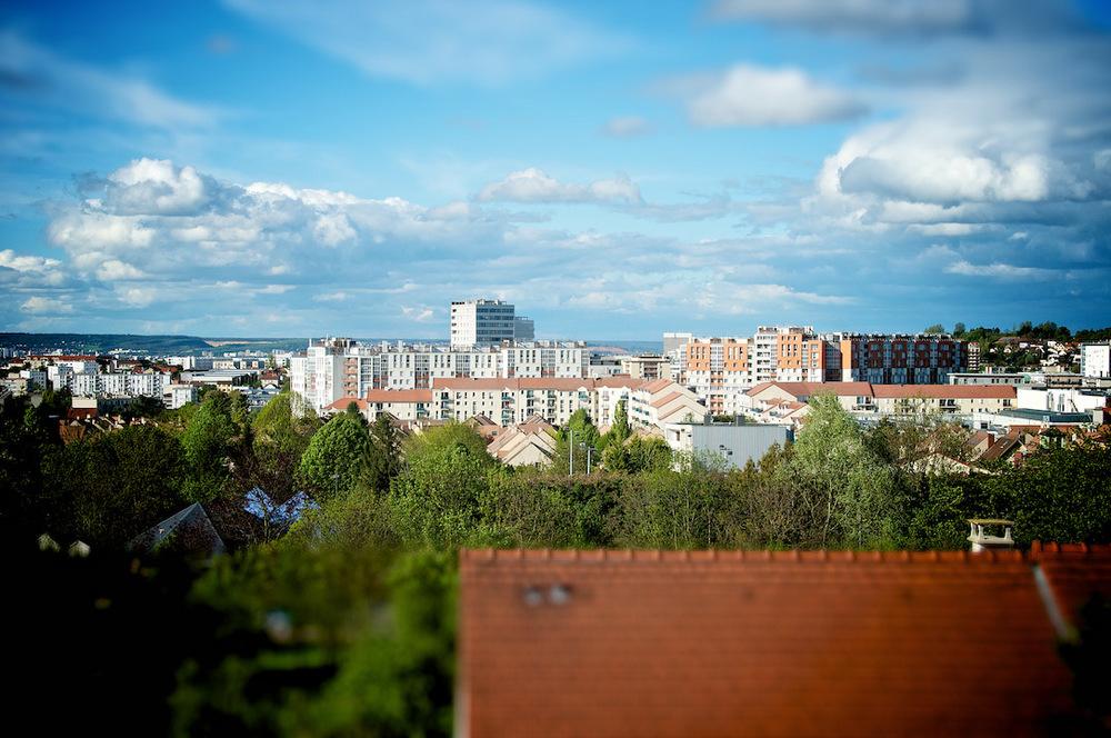 postcard rueil malmaison skyline architecture city foret forest france hauts de seine tiltshift.jpg