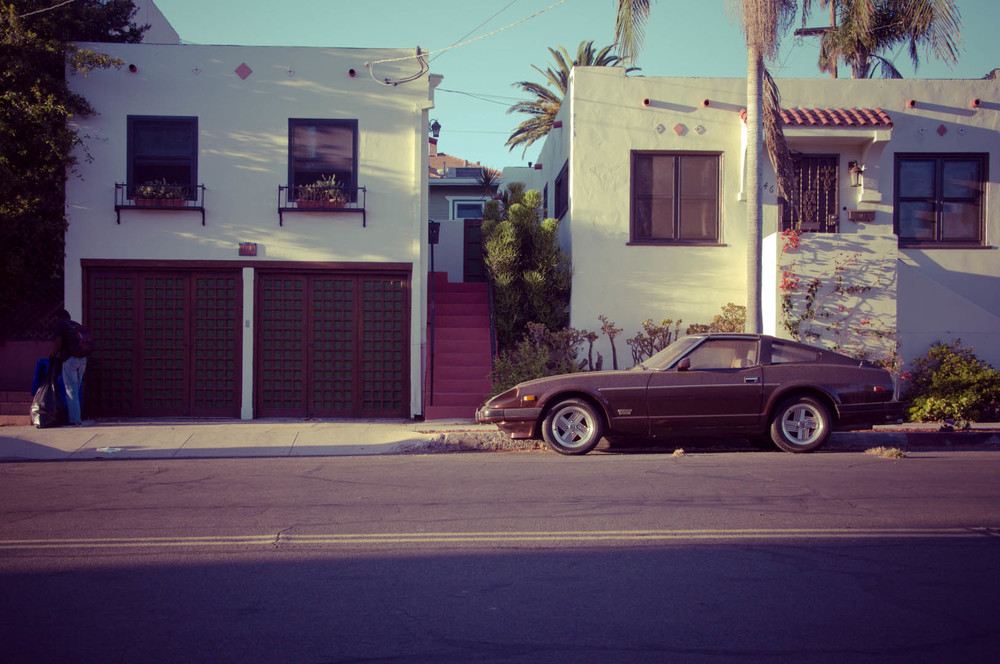san diego california usa america muscle car mustang house sun sunny palm tree blue sky ocean vintage.jpg