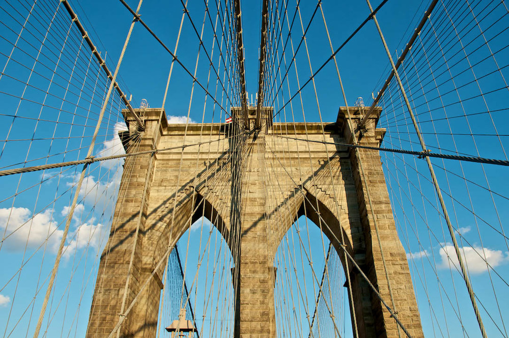sypder web bk bridge brooklyn nyc ny new york city usa america brick line cables blue sky stone east river.jpg
