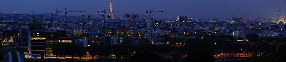 Panorama paris france grue crane skyline night sunset light dark building city life.jpg