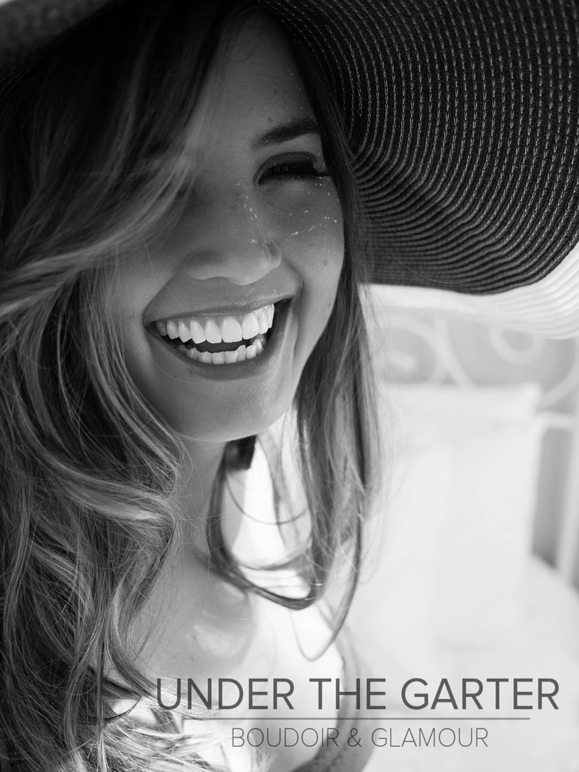 Laughter in Hat -- Boudoir Photography Denver.jpg