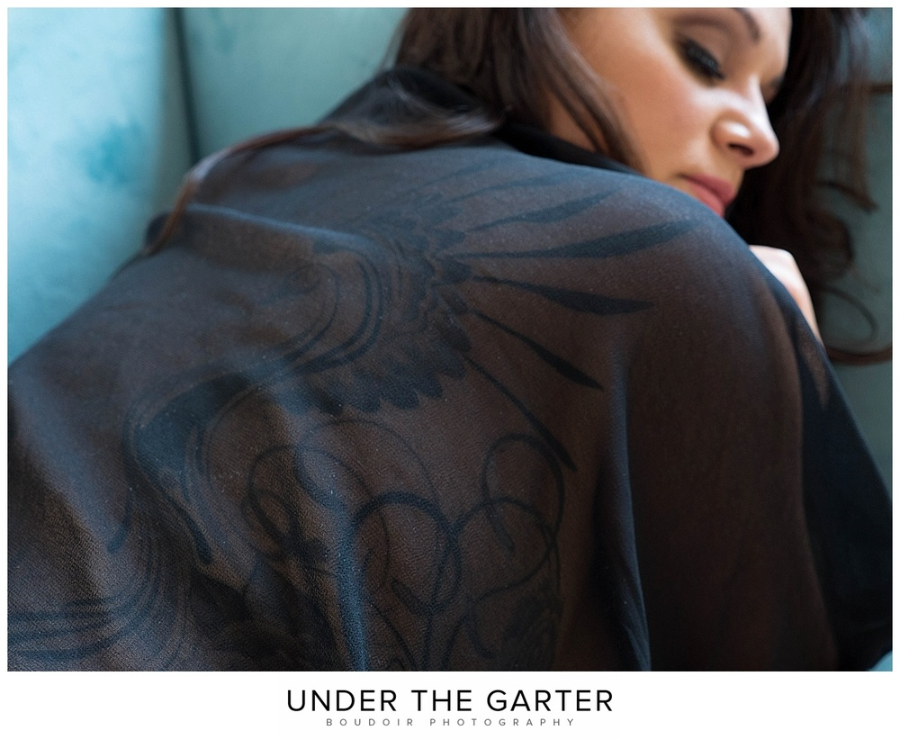 boudoir photography denver back tattoo sheer robe.jpg