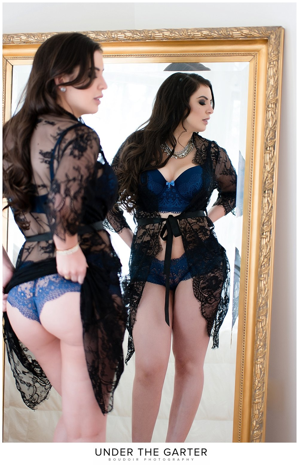 boudoir photography denver tushie tuesday gold mirror.jpg
