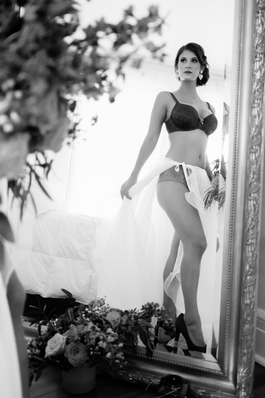 Boudoir-Photo-Denver-Bride's-Standing-Reflection