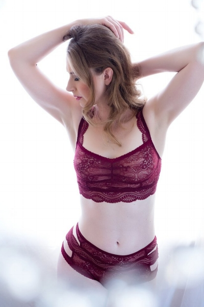 Boudoir Photo Denver Woman Wearing L'Ecoloe Nuit.jpg
