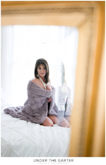 boudoir photography denver gold mirror purple pearls.jpg