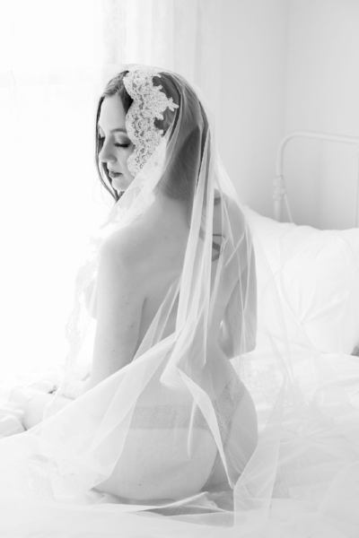 Boudoir Photo Denver Seated in Cathedral Veil.jpg