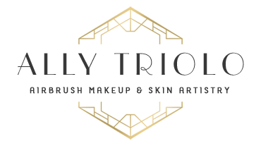 Ally Triolo, airbrush makeup artist and licensed esthetician