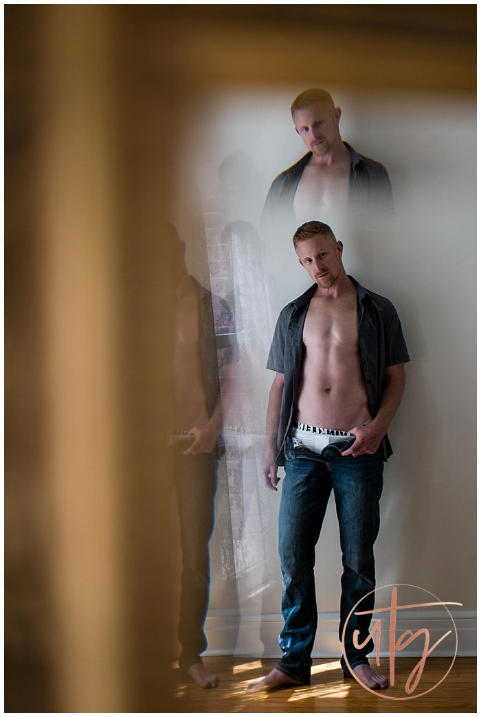 male boudoir photography denver mirror double.jpg