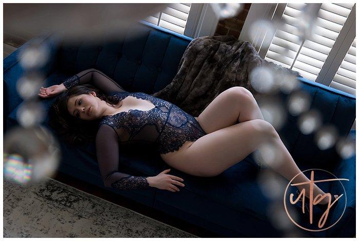 boudoir photography denver blue lace couch.jpg